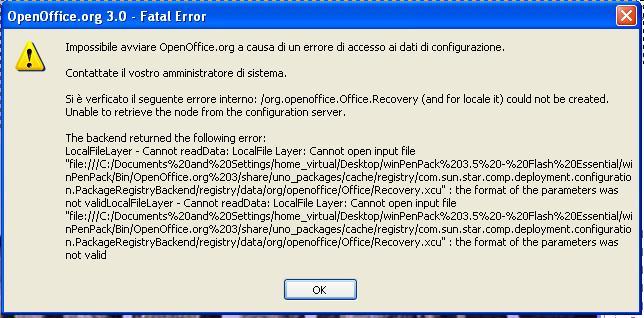 FAQ : 37 : Why at X-OpenOffice org (or X-LibreOffice) first run an